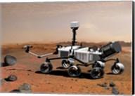 Concept of NASA's Mobile Robot for Investigating Mars Fine-Art Print