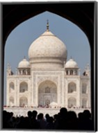 The Royal Gate detail s, Taj Mahal, Agra, India Fine-Art Print