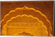 Carved Sandstone Arches, Jaisalmer, Rajasthan, India Fine-Art Print