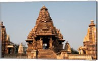 India, Khajuraho. Lakshmana Temple at Khajuraho Fine-Art Print