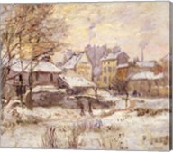 Snow Effect with Setting Sun, 1875 Fine-Art Print