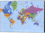 Map Of The World Fine-Art Print
