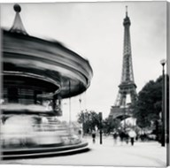 Merry Go Round, Study 1, Paris, France Fine-Art Print