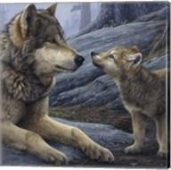 Brother Wolf (detail) Fine-Art Print