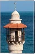 Israel, Jaffa, Al-Bahr Mosque minaret Fine-Art Print