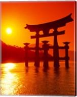 O-Torii Gate, Itsukushima Shrine, Miyajima, Japan Fine-Art Print