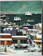 Winter in Nantucket Harbor Fine-Art Print
