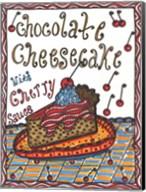 Chocolate Cheesecake Fine-Art Print