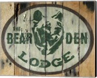 The Bear Den Lodge Fine-Art Print
