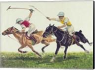 Polo action Fine-Art Print