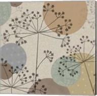 Polka-Dot Wildflowers II Fine-Art Print