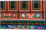 Buddhist temple, Namche Bazaar, Solukhumbu, Nepal. Fine-Art Print