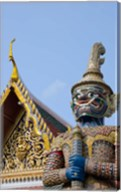 Statue at The Grand Palace, Bangkok, Thailand Fine-Art Print
