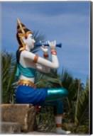 Thailand, Ko Samui, Thai goddess statue Fine-Art Print