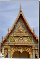 Thailand, Ko Samui, Wat Plai Laem, Temple Fine-Art Print