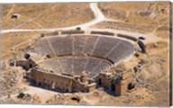 Roman Amphitheater, Ancient Hierapolis, Pamukkale, Turkey Fine-Art Print