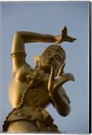 Golden Deity Sculpture, Thailand Fine-Art Print