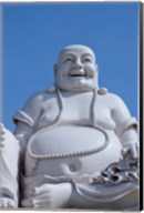 Big Happy Buddha statue, My Tho, Vietnam Fine-Art Print