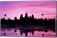 View of Temple at Dawn, Angkor Wat, Siem Reap, Cambodia Fine-Art Print