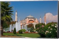 The Hagia Sophia Mosque, Istanbul, Turkey Fine-Art Print