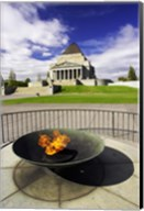 Eternal Flame, Shrine of Rememberance, Melbourne, Victoria, Australia Fine-Art Print