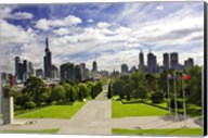 View from the Shrine of Remembrance, Melbourne, Victoria, Australia Fine-Art Print