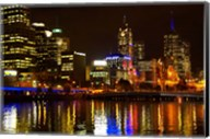 Yarra River, Queens Bridge and CBD, Melbourne, Victoria, Australia Fine-Art Print