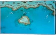 Australia, Whitsunday Islands, Heart Reef Fine-Art Print