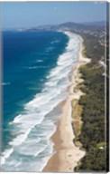 Australia, Queensland, Sunshine Beach coastline Fine-Art Print