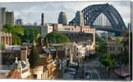 Australia, New South Wales, Sydney, George Street Fine-Art Print