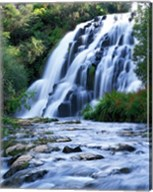 Cascade, Karangahake Gorge, North Island, New Zealand Fine-Art Print