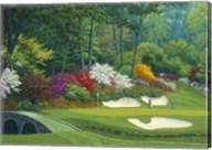 Augusta on the 12th hole Fine-Art Print