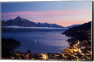 Lake Wakatipu, Queenstown, South Island, New Zealand Fine-Art Print