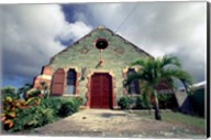 Old Anglican Church, Liberta, Antigua, Caribbean Fine-Art Print