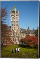 Graduation photos at University of Otago, Dunedin, South Island, New Zealand Fine-Art Print