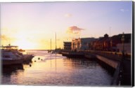 Sunset, Bridgetown, Barbados, Caribbean Fine-Art Print