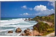 Rocky coastline, Barbados at Bathsheba Fine-Art Print