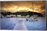 View of Flatts Village, Bermuda, Caribbean Fine-Art Print