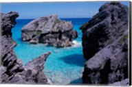 Beach on South Coast, Bermuda, Caribbean Fine-Art Print