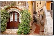 Jasmine covered entryway, Eze, Provence, France Fine-Art Print
