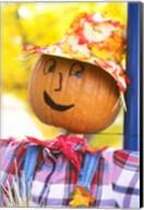 WA, Chelan, Halloween holiday Scarecrow Fine-Art Print