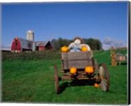 Pumpkin Man and Farm, Vermont Fine-Art Print