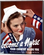 Become a Nurse Fine-Art Print