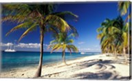 Tropical Beach on Isla de la Juventud, Cuba Fine-Art Print