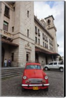 Cuba, Havana, Central Train Station Fine-Art Print