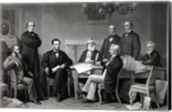 President Lincoln reading the Emancipation Proclamation to his Cabinet Fine-Art Print
