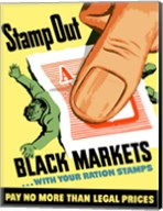 Stamp Out Black Markets Fine-Art Print