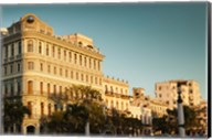 Cuba, Havana, Havana Vieja, Hotel Saratoga, sunset Fine-Art Print