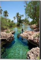 Alligator Hole, Black River Town, Jamaica, Caribbean Fine-Art Print