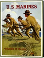 U.S. Marines - Soldiers of the Sea Fine-Art Print